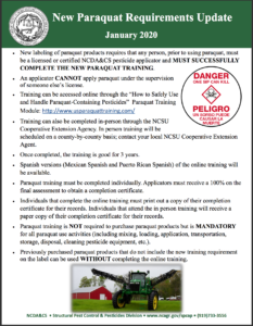 Cover photo for Online Pesticide Training Opportunities - Due to COVID-19