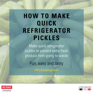 Cover photo for How to Make Quick Refrigerator Pickles
