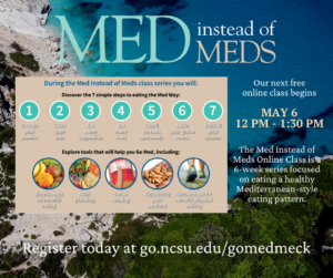 Cover photo for Med Instead of Meds Online Class