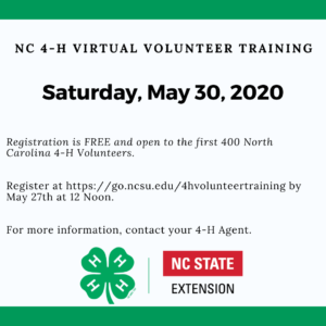 Cover photo for 4-H Virtual Volunteer Training