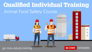 qualified individual animal food safety course