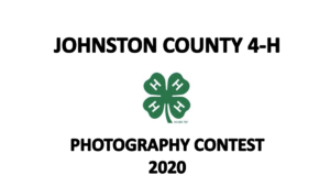 Johnston County 4-H Photography Contest 2020