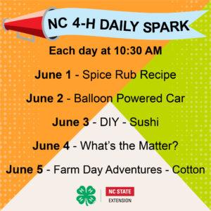 4-H Daily SPARK Week 11