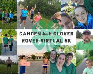 Cover photo for Clover Rover Virtual 5K a Success