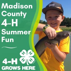 Madison County 4-H Summer Fun image