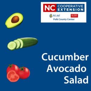 Cover photo for Healthy Recipe: Cucumber Avocado Salad