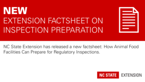 promotional header with text New Extension Factsheet on Inspection Preparation