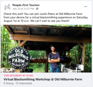 Ad for P1T virtual tour