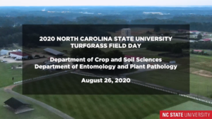 Cover photo for NC State Virtual Turf Field Day Series