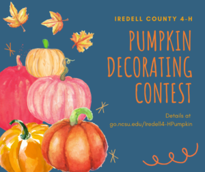 Cover photo for 4-H Pumpkin Decorating Contest
