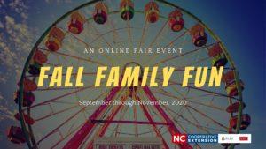 ferris wheel with words Fall Family Fun