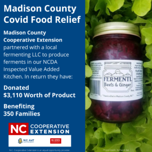 Cover photo for Madison County COVID-19 Food Relief