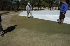 Cover photo for Keep Old Man Winter From Hurting Bermudagrass Putting Greens