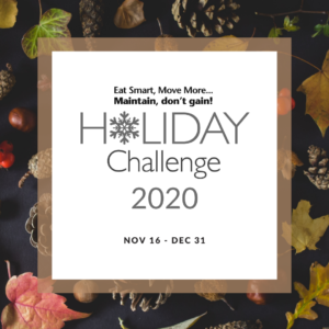 Cover photo for Join the 2020 Holiday Challenge