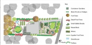 Edible landscape design