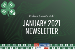 Cover photo for Wilson County 4-H Newsletter--January 2021