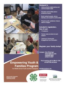 Cover photo for Empowering Youth & Families Program Registration Form