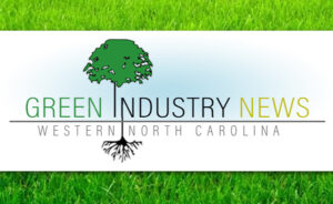 Green Industry News header on grass background
