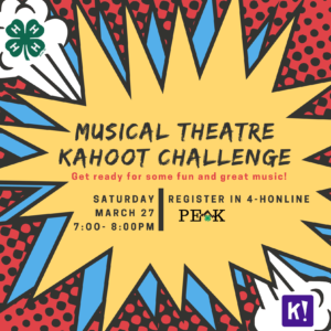 Cover photo for Musical Theater Kahoot Challenge