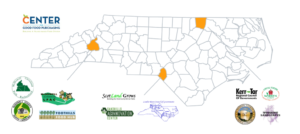 Farm to Senior Service County and Partner Map