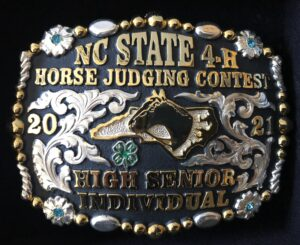 Cover photo for 2021 NC State 4-H Horse Judging Contest Results