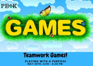 Cover photo for 4-H PEAK Event: Teamwork Games, Playing With a Purpose  - 5/20/21