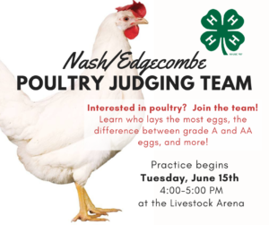 Cover photo for Nash/Edgecombe Poultry Judging Team - Join Now!