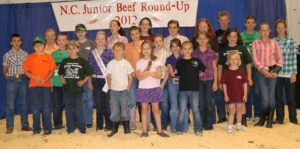 Cover photo for North Carolina Junior Beef Roundup Information