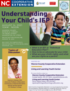 Cover photo for Understanding Your Child's IEP