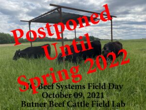 Cover photo for NC Beef Systems Field Day Postponed to Spring 2022